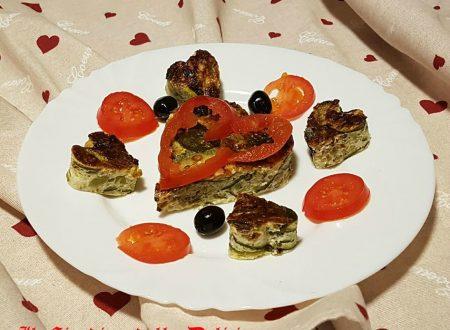 Frittata con ovette di quaglia e verdure