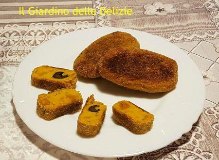 Crocchette di zucca con grana ed olive