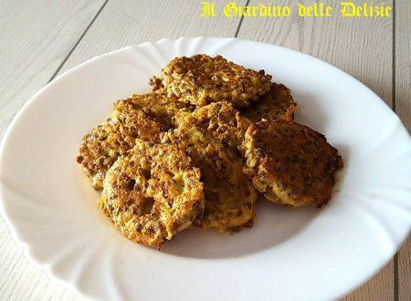 Frittelline di lenticchie al parmigiano