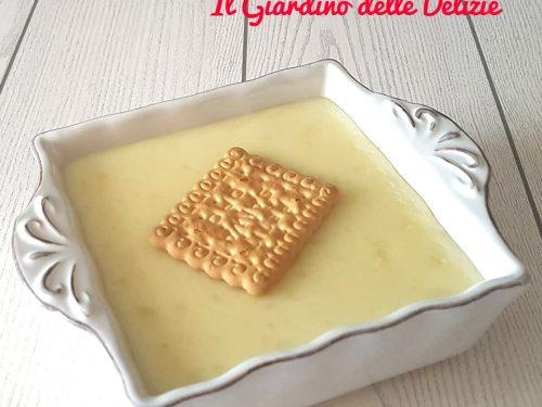 Crema di latte miele e cioccolato bianco