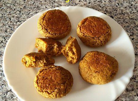 Polpettine semplici di lenticchie al forno