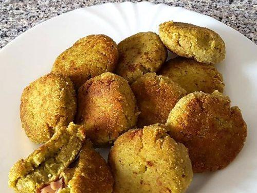 Polpette di broccoli e prosciutto cotto