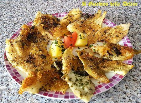 Filetti di sogliola al forno con patate