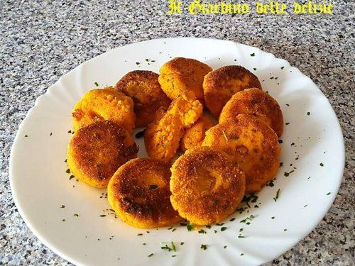 Polpette di carote senza patate al forno