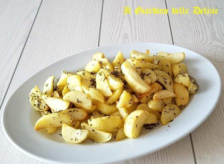 Patate arrosto cucinate al forno