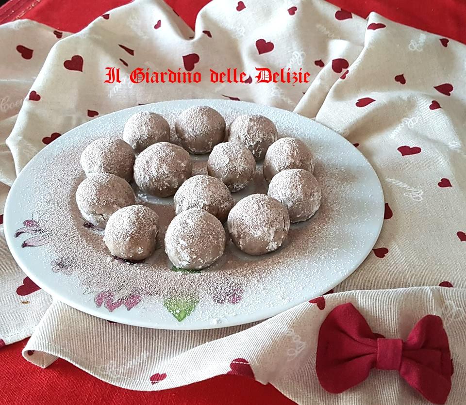 Praline di panettone e cioccolato