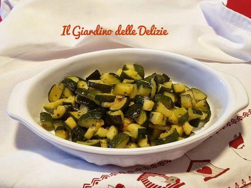 Zucchine al forno alle spezie