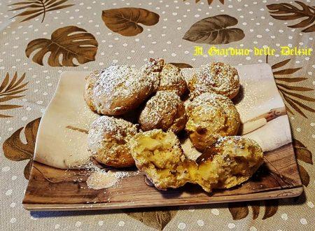 Biscotti noci ricotta e mela