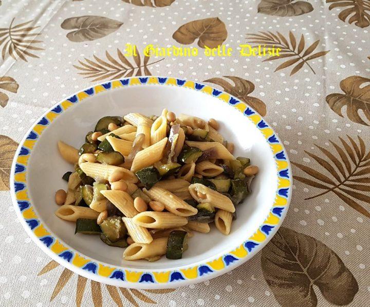 Zucchine cipolle e soia al microonde