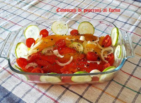 Peperoni preparati al forno