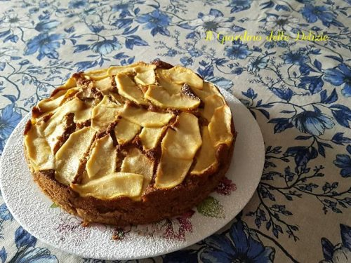 Torta integrale con mele senza burro e zucchero