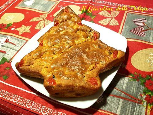 Torta salata antipasto di Capodanno
