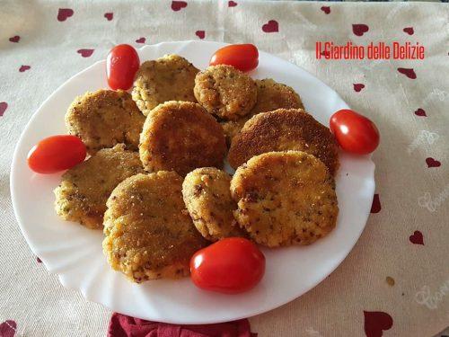 Polpette di Bulgur e Quinoa al forno
