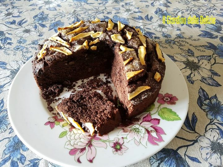 Torta cacao mandorle