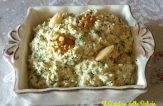 Pesto di sedano zucchine e noci