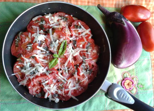 melanzane alla pizzaiola light