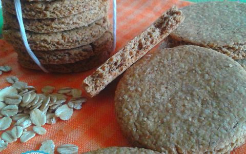 GALLETTE SCOZZESI ALL' AVENA