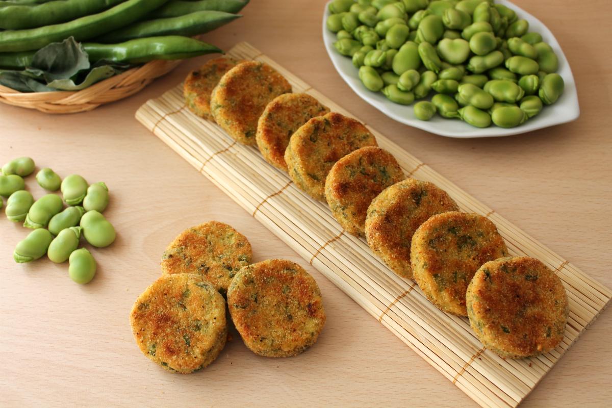 Ricetta Falafel Di Fave Al Forno.Crocchette Di Fave