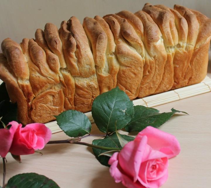 fisarmonica di pan brioche salato