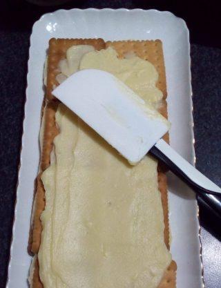 mattonella di biscotti con crema al limone