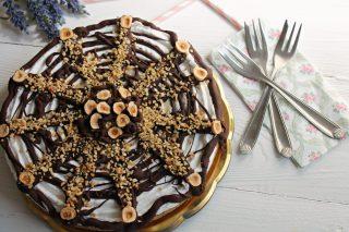 torta gelato panna cioccolato e nocciole