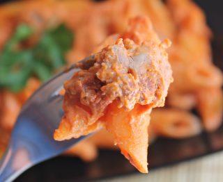pasta alla norcina con pomodoro