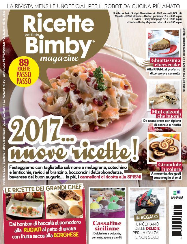 Collaborazione rivista ricette per il mio bimby magazine for Riviste cucina