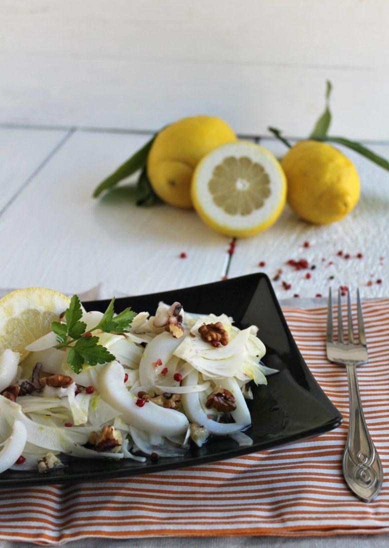 insalata di seppie e finocchi