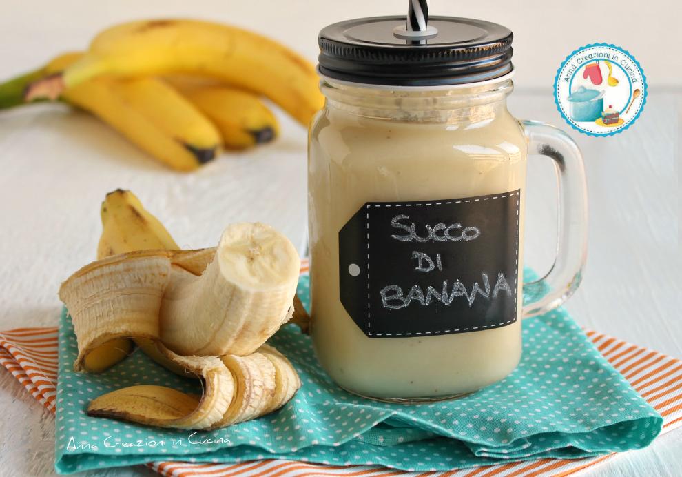 Succo di banana succhi di frutta anna creazioni in cucina for Succhi di frutta fatti in casa
