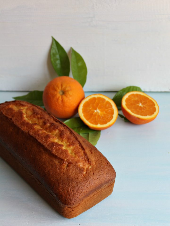 plumcake all' arancia