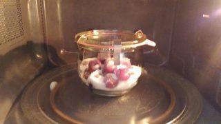 ciliegie sciroppate in vasocottura al microonde