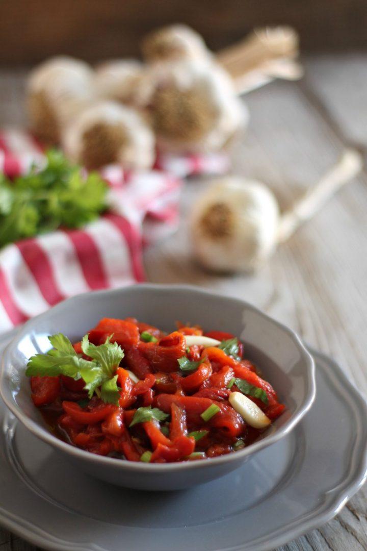 insalata di peperoni arrosto