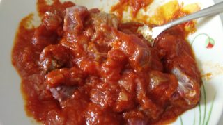 carne alla pizzaiola in vasocottura al microonde