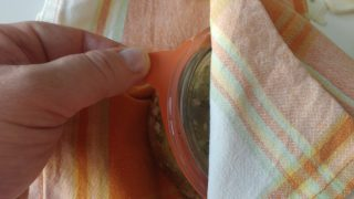tortino di zucchine in vasocottura al microonde