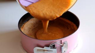 crostata di zucca e amaretti