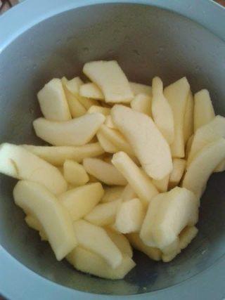 torta di mele alla panna