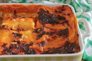 crespelle al forno con ricotta e prosciutto