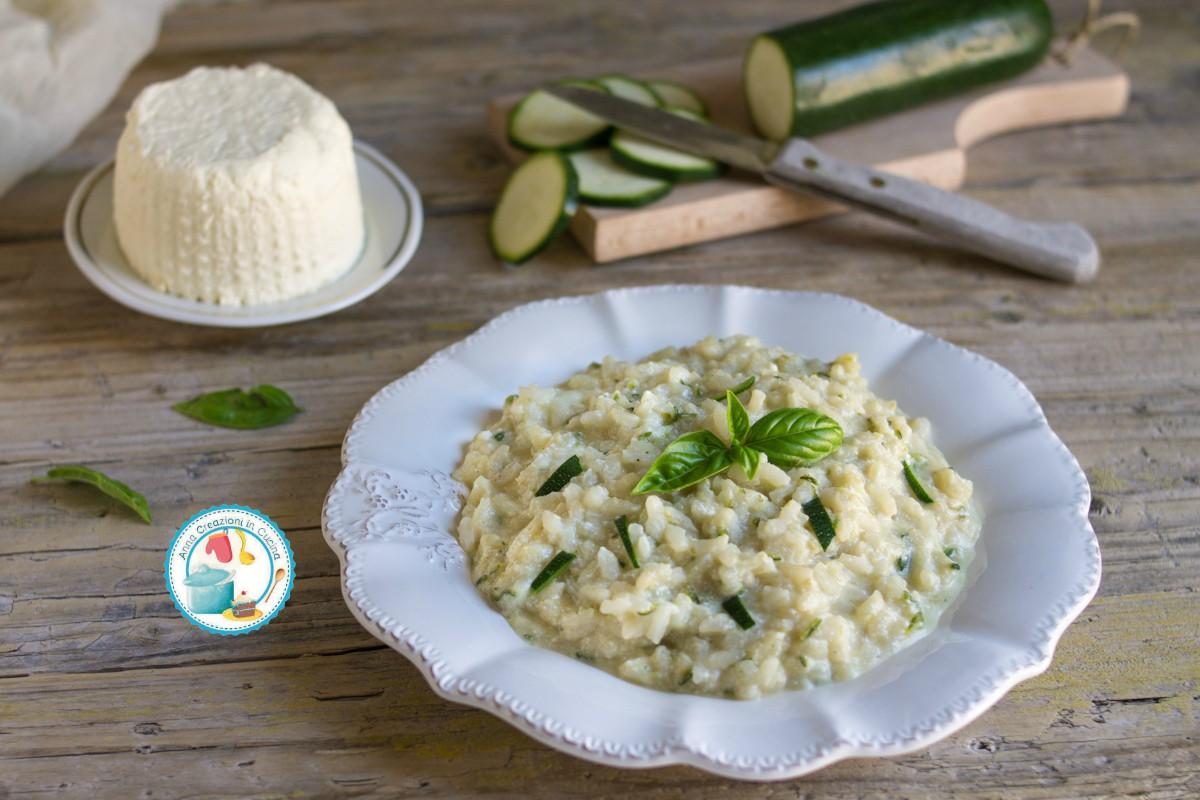 Risotto Zucchine E Ricotta Anna Creazioni In Cucina