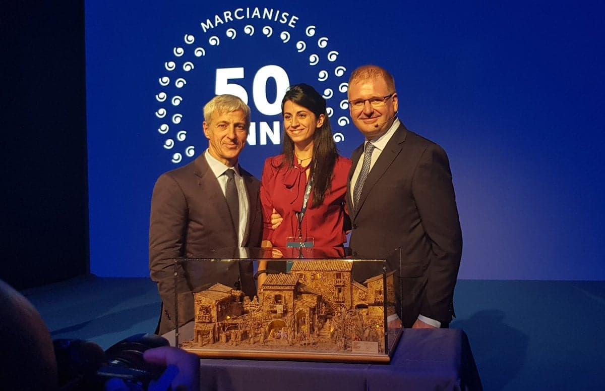 50 anni dello stabilimento Barilla di Marcianise