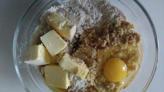 biscotti integrali con miele e nocciole