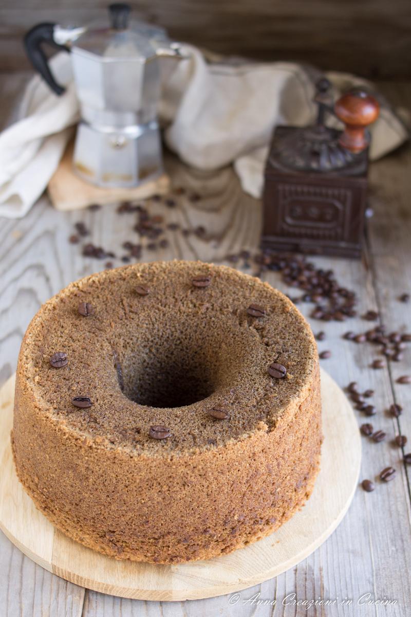 chiffon cake al caffe