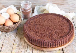 base morbida per crostate al cacao