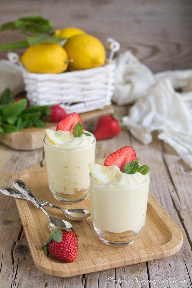 bicchierini di delizia al limone