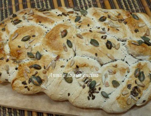 Spiga di pane con lievito madre
