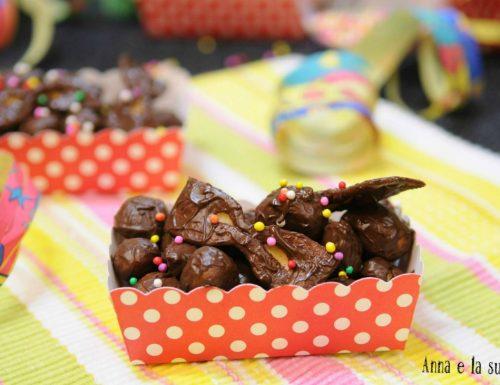 Struffoli al miele e cioccolato