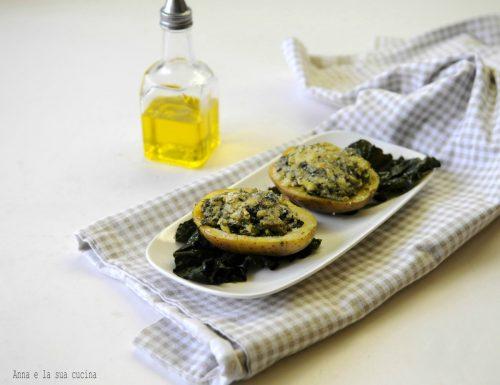 Barchette di patate e broccoli