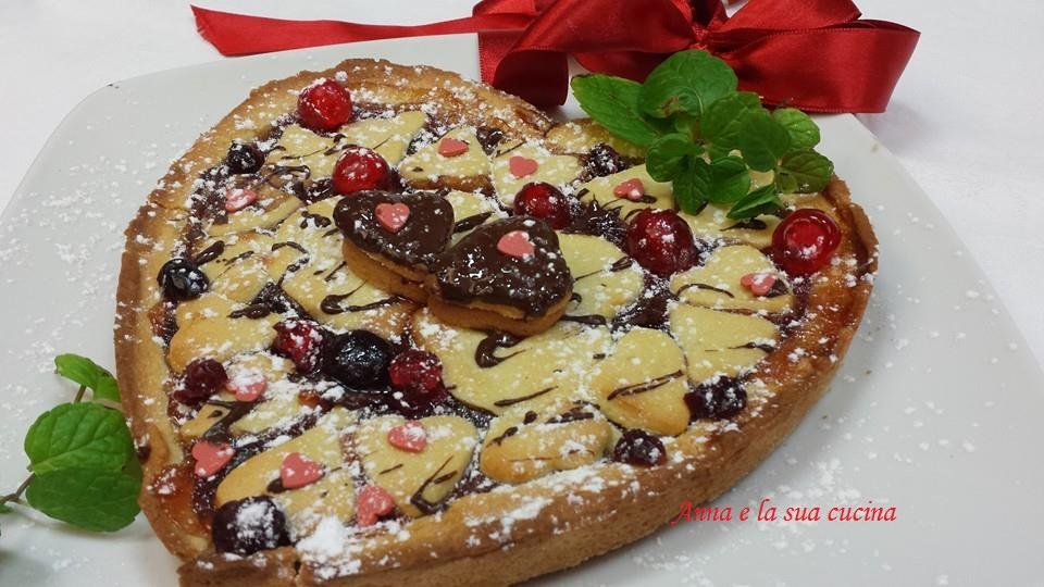 Cuore di crostata anna e la sua cucina - La cucina del cuore ...