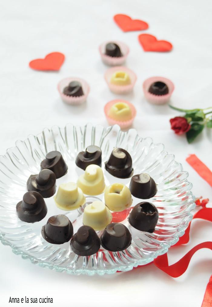 Cioccolatini ripieni misti