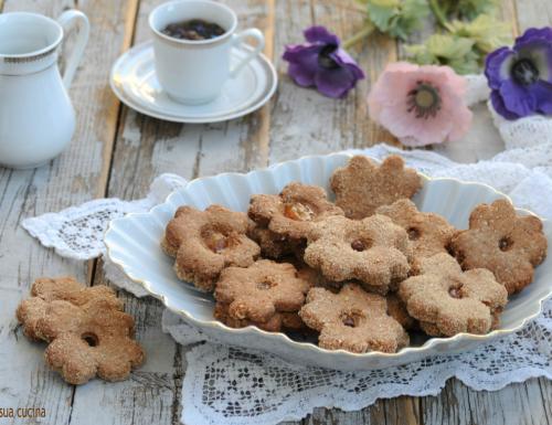 Biscottini rustici con farina di farro