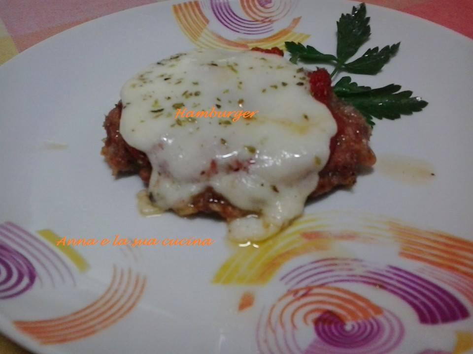 hamburger di carne alla pizzaiola | anna e la sua cucina - Come Cucinare Hamburger Di Carne